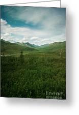 Tombstone Mountain Greeting Card by Priska Wettstein