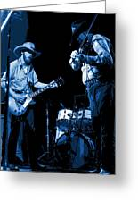 Tommy And Charlie Play Some Blues At Winterland In 1975 Greeting Card
