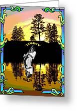 Amber Lake #2 Greeting Card
