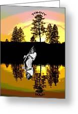 Amber Lake #4 Greeting Card