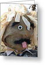 Tongue  Tie Scarecrow Affair Greeting Card