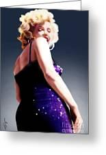 Too High To Climb - Monroe Greeting Card by Reggie Duffie