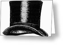 Top Hat, 1900 Greeting Card