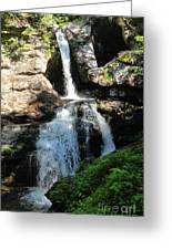 Top Of Kent Falls Greeting Card