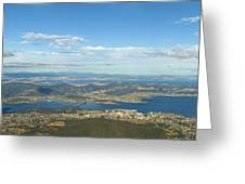 Top Of Mount Wellington Tasmania Greeting Card