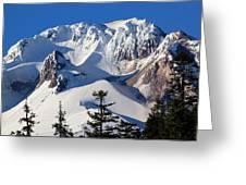 Top Of Mt. Hood Greeting Card