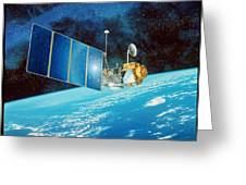 Topex/poseidon Satellite Greeting Card