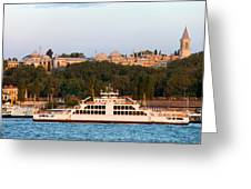 Topkapi Palace In Istanbul Greeting Card