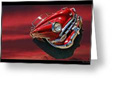 Topless Chevy Greeting Card