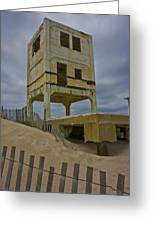 Topsail Island Observation Tower 6 Greeting Card