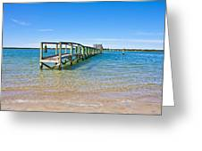 Topsail Island Sound Greeting Card