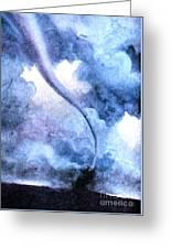 Tornado 1931 Greeting Card