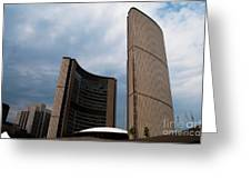 Toronto City Hall Greeting Card