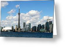 Toronto Skyline 10 Greeting Card