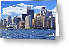 Toronto Waterfront Greeting Card