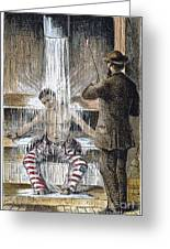 Torture At Sing Sing C1869 Greeting Card by Granger