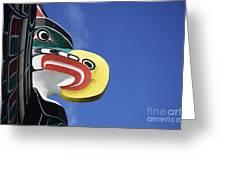 Totem Pole 10 Greeting Card