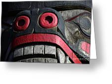 Totem Pole 13 Greeting Card