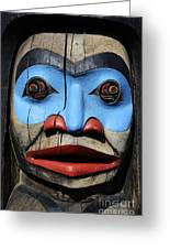 Totem Pole 3 Greeting Card