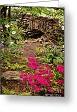 Touch Of Spring Greeting Card by Cheryl Davis