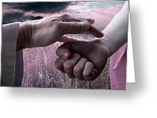 Touched Greeting Card