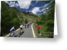 Tour De France 1 Greeting Card