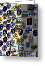 Tourism Magnets Greeting Card by David Buffington