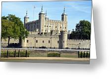 Tower And Traitors Gate Greeting Card