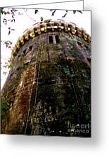 Tower Butron Castle Greeting Card