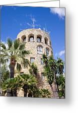 Tower In Puerto Banus Greeting Card