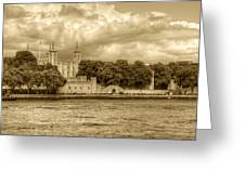 Tower Of London Greeting Card