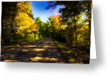 Townline Road Greeting Card