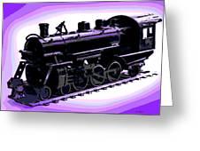 Toy Train Greeting Card