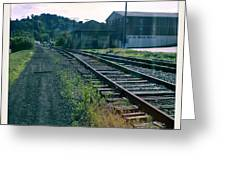 Tracks In Time Greeting Card