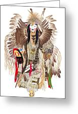 Traditional Pow-wow Dancer 1 Greeting Card