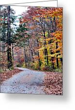 Trail Enlightenment Greeting Card