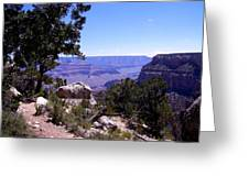 Trail To The Canyon Greeting Card