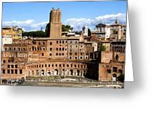 Trajan's Market  Greeting Card