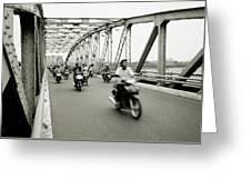 Trang Tien Bridge Greeting Card