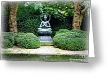 Tranquil Buddha Greeting Card