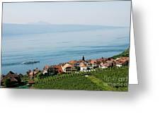 Tranquil Lake Geneva Greeting Card