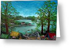 Tranquility Lake Greeting Card