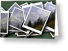 Transylvania Landscape Greeting Card