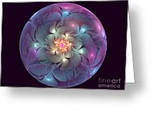Trapped Blossom Greeting Card
