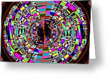 Trapped In The Vortex Greeting Card