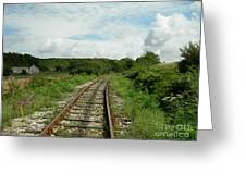 Traveling Towards One's Dream Greeting Card