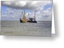 trawler - Sylt Greeting Card by Joana Kruse