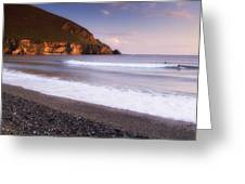 Trawmore Bay, Achill Island, County Greeting Card