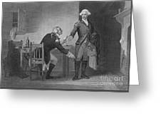 Treason Of Benedict Arnold, 1780 Greeting Card
