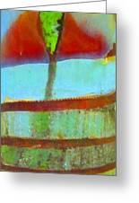 Tree Abstract 1 Greeting Card